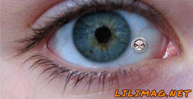 پیرسینگ چشم