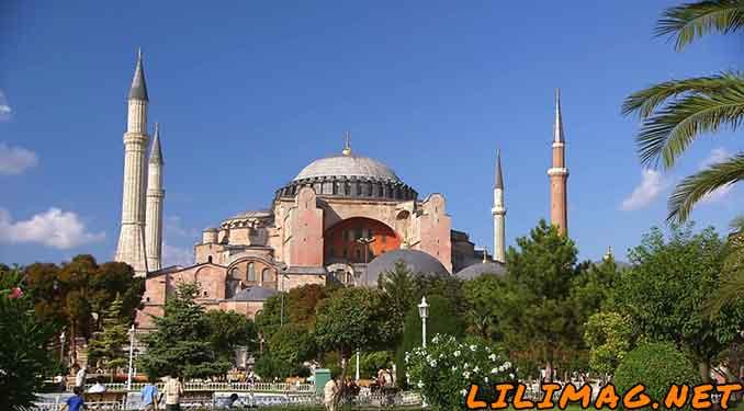 جاهای دیدنی استانبول، موزه ایاصوفیه نماد استانبول (Hagia Sophia)