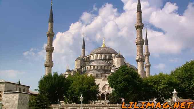مکانهای گردشگری استانبول، مسجد آبی(کبود) یا مسجد سلطان احمد (Blue Mosque)
