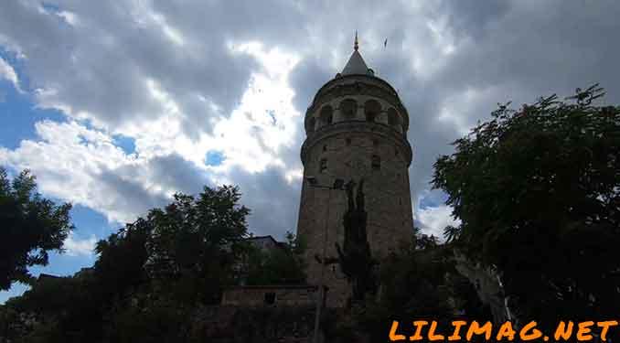 جاهای دیدنی استانبول، برج گالاتا (Galata Tower)