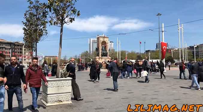 میدان تکسیم استانبول و جاذبه های گردشگری نزدیک آن (İstiklal Caddesi and Taksim)