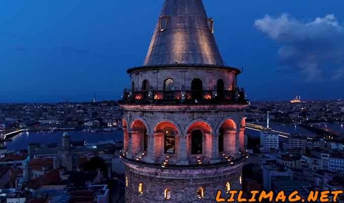 سکوی تماشای برج گالاتا
