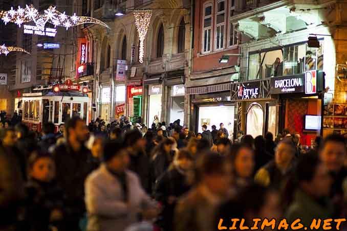 مراکز خرید میدان تقسیم استانبول