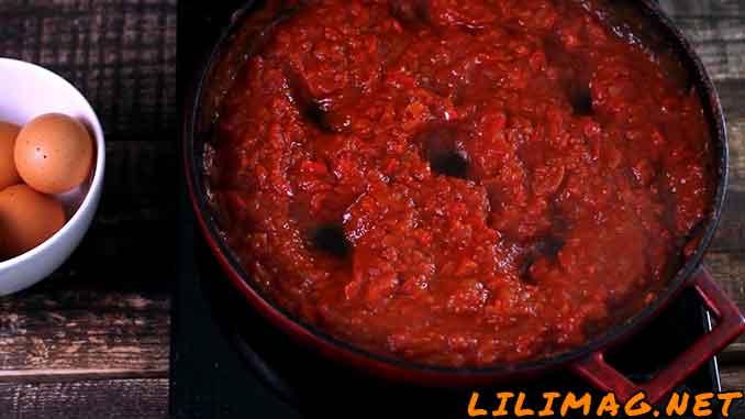 تجهیزات و مواد لازم برای املت گوجه فرنگی