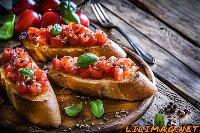 طرز تهیه پیش غذا ایتالیایی