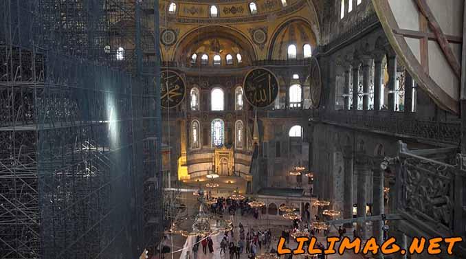 تبدیل ایاصوفیه به موزه ایاصوفیه استانبول از زمان آتاتورک
