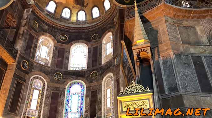 منبر موزه ایاصوفیه استانبول