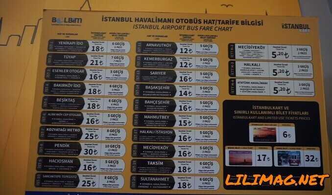 فاصله فرودگاه جدید استانبول تا شهر و محلههای مهم استانبول