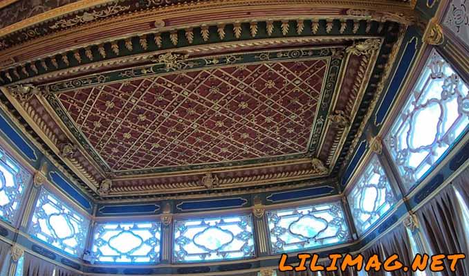 اتاقهای خصوصی شاهان عثمانی در قصر توپکاپی استانبول