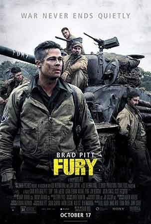 فیلم فیوری؛ بررسی و نقد فیلم Fury 2014 + دانلود