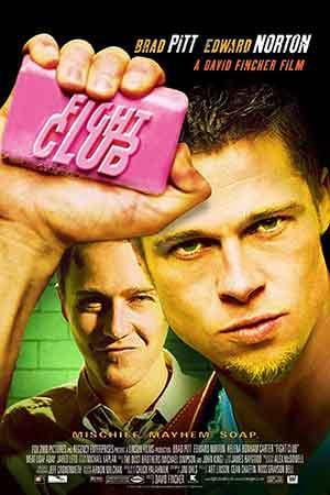 رتبه اول فیلم های برد پیت: باشگاه مشت زنی 1999