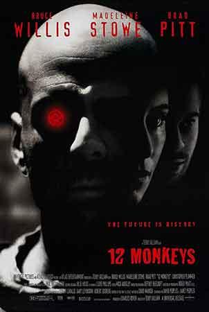 رتبه دوم فیلم های برد پیت: دوازده میمون 1995