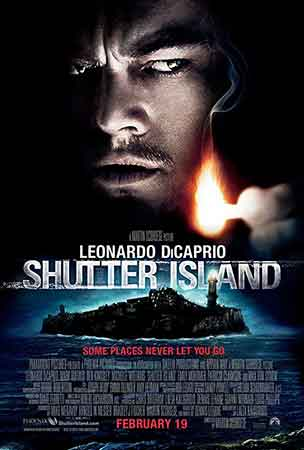 رتبه سیزدهم فیلمهای مارتین اسکورسیزی: جزیره شاتر 2010