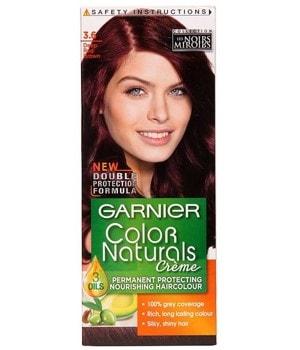 خرید رنگ مو بادمجانی شماره 3 برند گارنیه