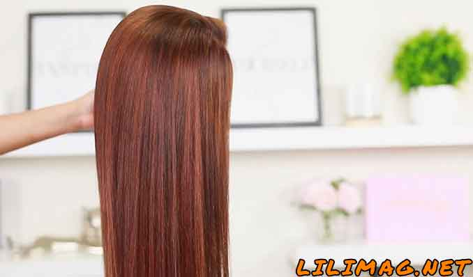 آموزش ترکیب رنگ موی فندقی با دکلره