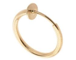 خرید گوشواره پیرسینگ طلایی رنگ