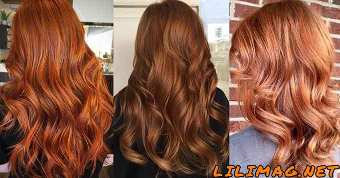 عکس انواع رنگ موی مسی