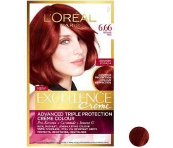 خرید رنگ موی شرابی 6 لورال