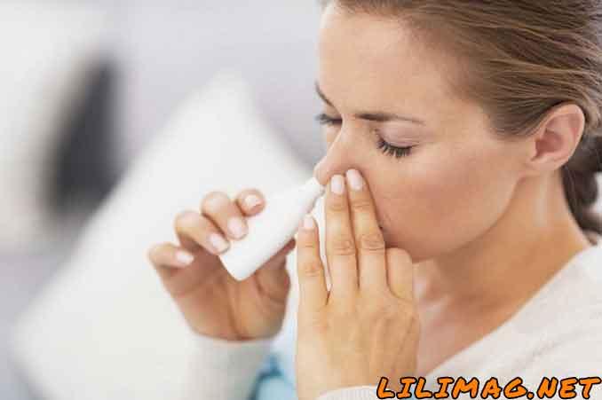 نحوه مصرف قطره و اسپری بینی نفازولین